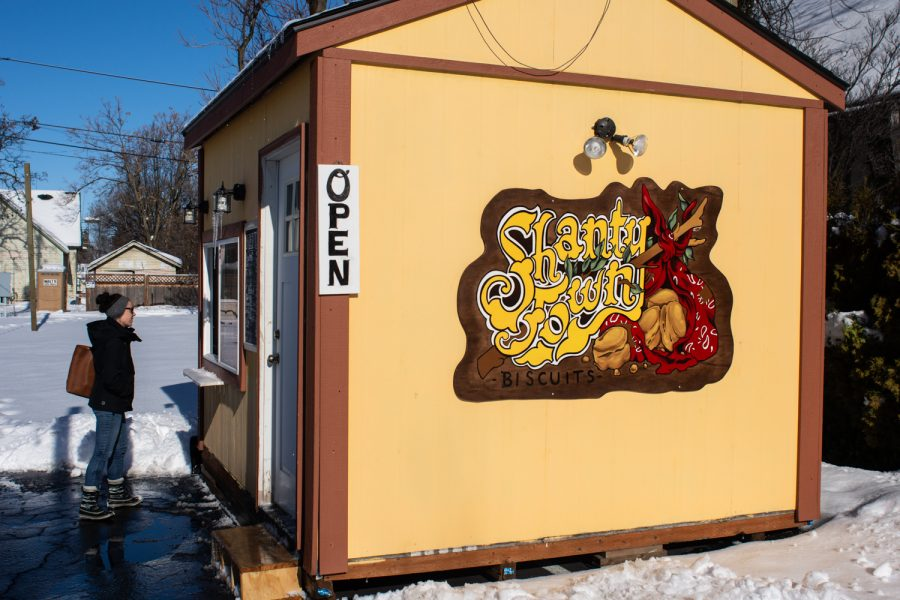 Shanty Town Biscuits reimagines the traditional breakfast sandwiches vegan style.
