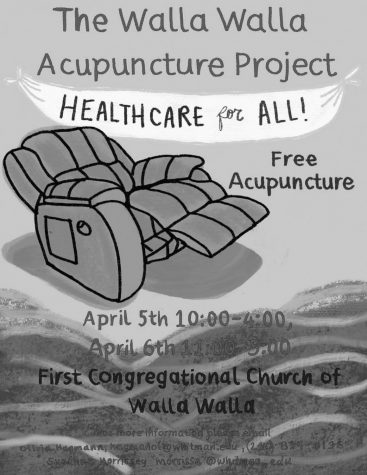 Acupuncture Pop-Up Promotes Free Healthcare