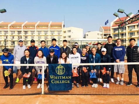 Women's Tennis Spends Spring Break in China