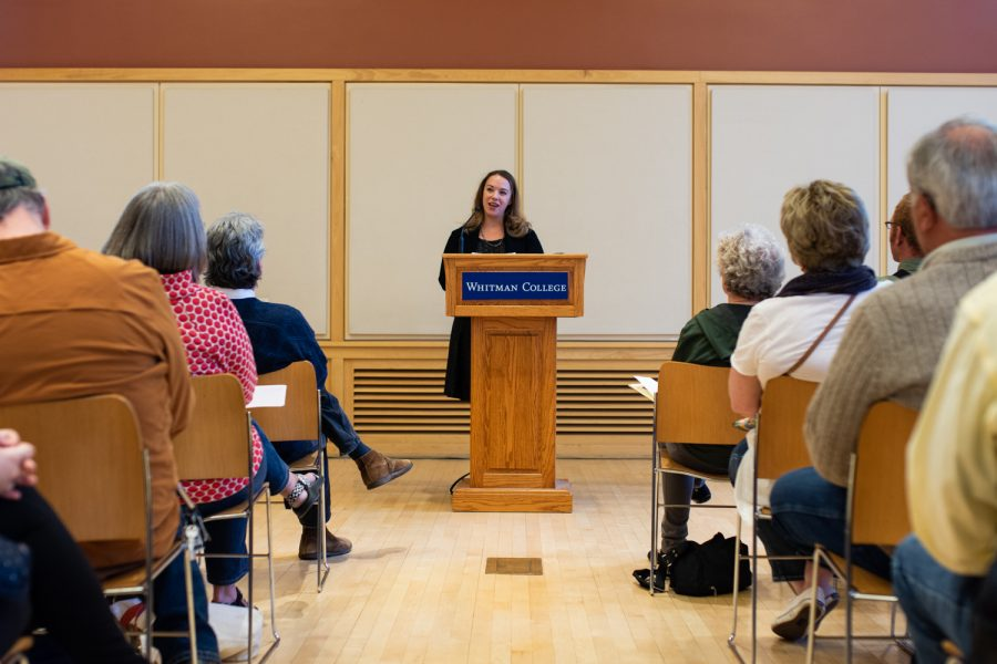 Sarah Kendzior was the Hosokawa guest lecturer this year. She is the author of the book