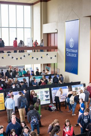 Whitman Undergraduate Conference Showcases Student Research