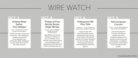Wire Watch: Week of May 4th