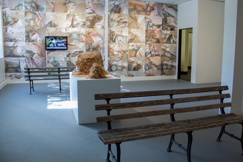 Jea Alford's installation