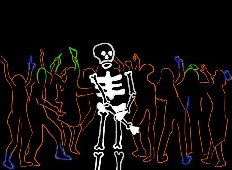 Skeleton has no BODY to go to the dance with