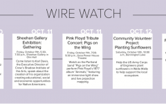 Wire Watch: Oct. 10-16