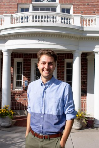 Jack Buettner, one of the three new admission officers, looks forward to getting to know more of the Whitman community.