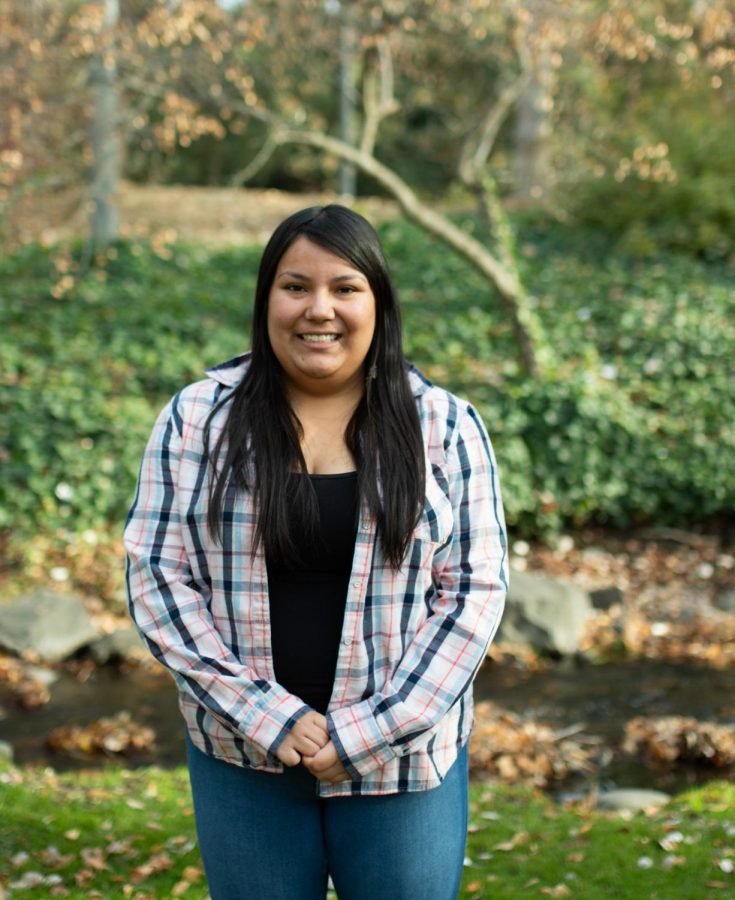 Junior Lizbeth Llanes grew up in College Place and has found that her perspective of Whitman's engagement with the community has changed since her arrival at Whit man
