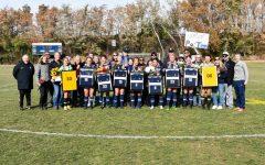 Whitman soccer celebrates seniors at last home game