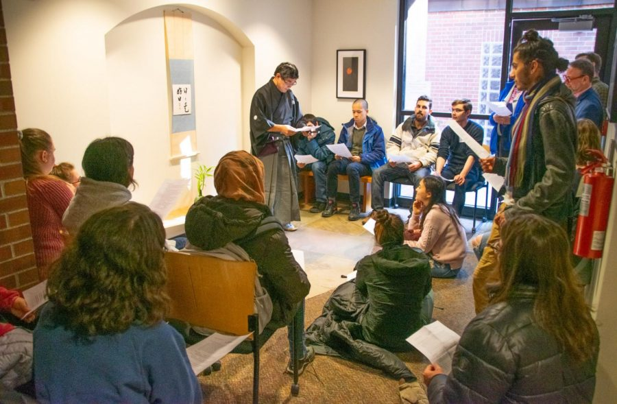 Despite the perception that Whitman does not have an active faith community, there are many students and community members who wish to create a space for faith at Whitman. Assistant Professor of Foreign Languages and Literatures (Japanese) Akira Takemoto was one of the speakers at the first Interfath Summit this past Saturday.