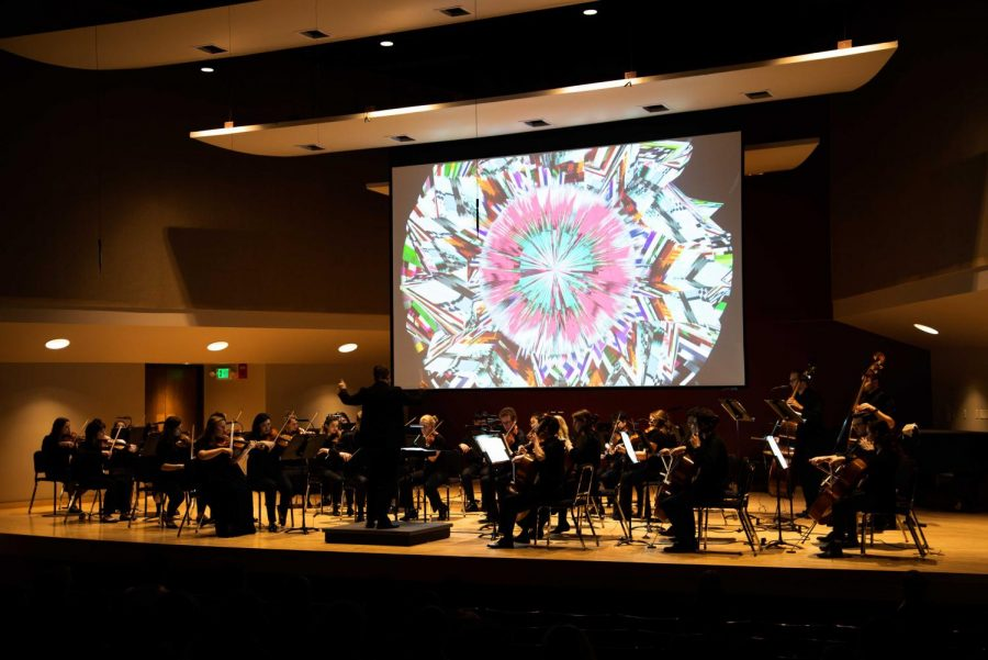 The Winter Orchestra Concert occurred on Feb. 14. Photo by Thomas Lemoine
