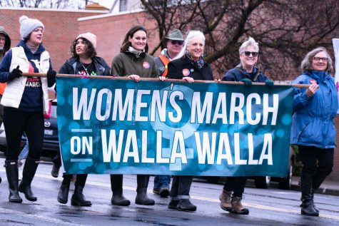 The leadership behind Walla Walla's 2020 Women's March chose to separate from the national Women's March after allegations of anti-Semitism and lack of intersectionality in the national movement. Photos by Beej Haas